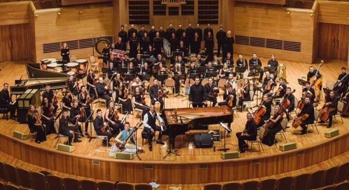 Пол Ромеро в Москве с оркестром